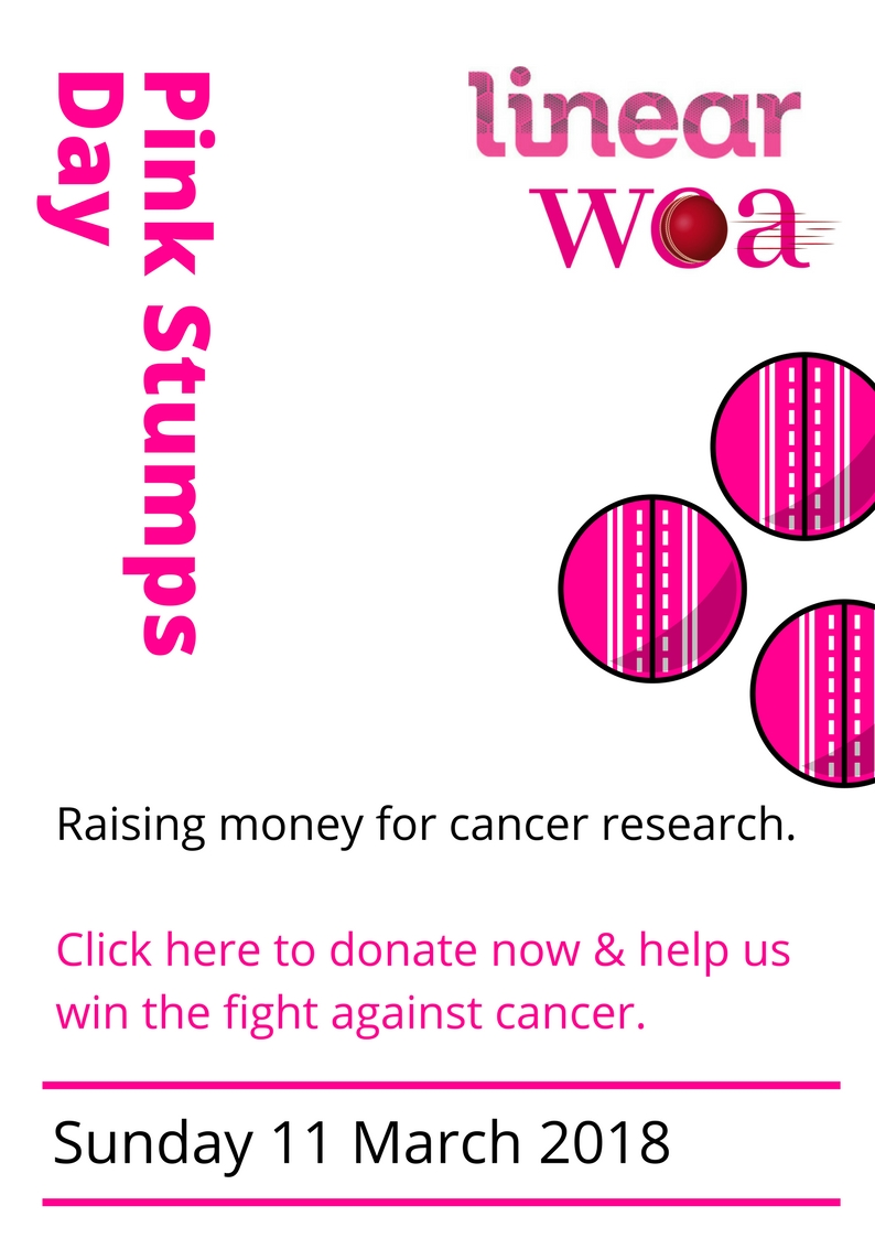 Pink Stumps Day - donate now